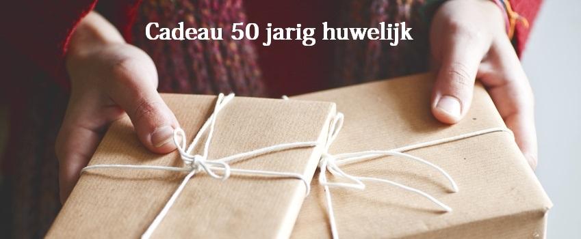 Cadeau 50 jarig huwelijk