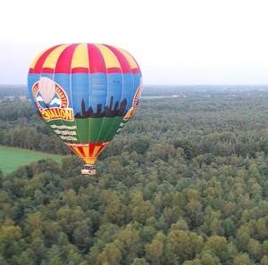 luchtballon varen