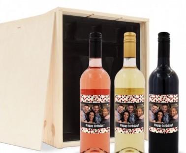Persoonlijk wijnflespakket