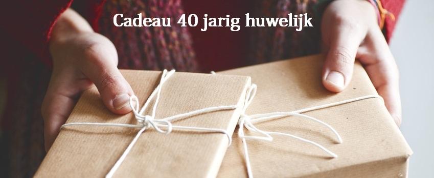 kado 40 jarig jubileum Cadeau 40 jarig huwelijk kado 40 jarig jubileum